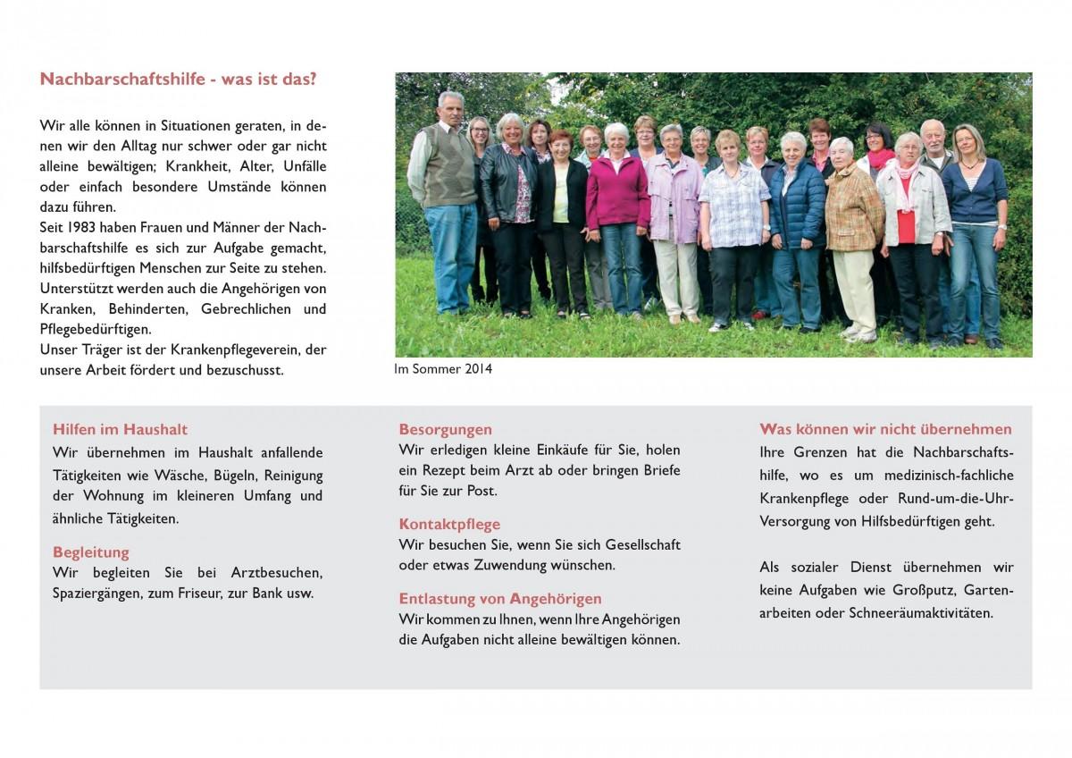 Nachbarschaftshilfe – Soziale Dienste und Betreuung e.V. | Gemeinde ...