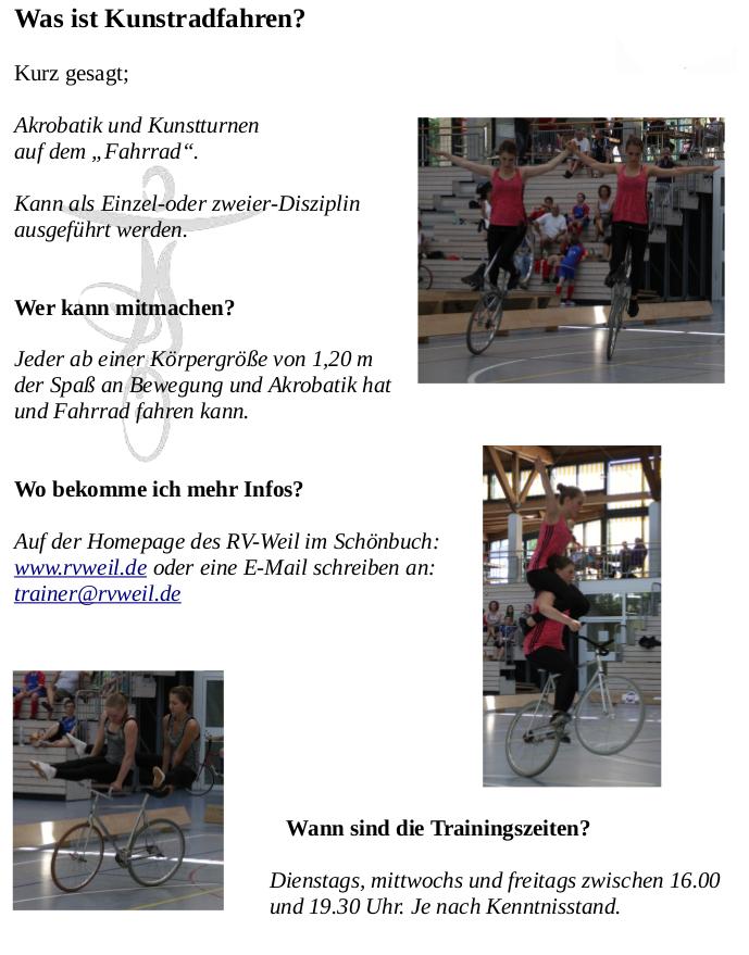 Radsportverein Weil im Schönbuch   Gemeinde Weil im Schönbuch ...